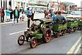 SH7882 : Model traction engine - B W Evans Haulage by Richard Hoare
