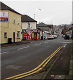 ST3288 : Church Road towards Christchurch Road, Newport by Jaggery