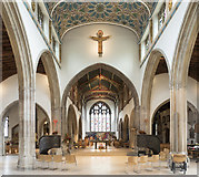 TL7006 : Chelmsford Cathedral - East end by John Salmon