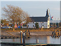 ST1974 : The Norwegian Church, Cardiff Bay by Robin Drayton