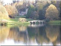 ST7733 : Stourton church and Palladian Bridge by Philip Halling
