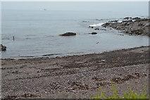 SX5048 : Beach and rocks by N Chadwick
