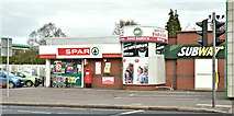 J3774 : Spar and BP, Ballyhackamore, Belfast (November 2017) by Albert Bridge