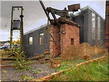 SJ6775 : Brine Pump, Lion Salt Works by David Dixon