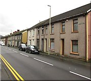 SS9497 : Ynyswen Road houses, Ynyswen by Jaggery