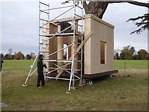 SO8844 : Constructing a tree house by Philip Halling
