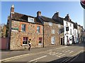 ST5445 : Priest Row and the Globe Inn, Wells by David Smith