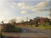 ST5431 : B3153 west of Keinton Mandeville by David Smith