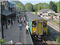SH7956 : Sprinter calling at Betws-y-Coed station  by Stephen Craven