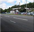 ST2583 : Car Trade Yard, Coedkernew by Jaggery