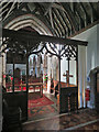 TL5284 : Little Downham: St Leonard - chancel, screen and nave by John Sutton