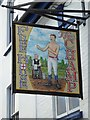 SS4630 : The Champ inn sign by Philip Halling