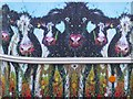SO8937 : Painted cattle by Philip Halling