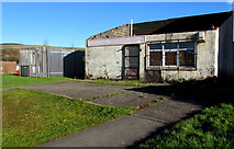 SS9086 : Derelict former shop, Bettws by Jaggery