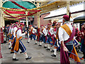 SD8010 : Morris Men at Bolton Street Station by David Dixon