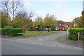 SP1279 : Green space by Ashwell Drive by Bill Boaden