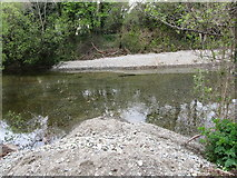 J3731 : Deepened pool on the lower Shimna at Islands Park by Eric Jones
