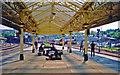 ST3088 : Newport station, west end 2001 by Ben Brooksbank