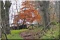 NT2340 : Field gate, South Park Wood by Jim Barton