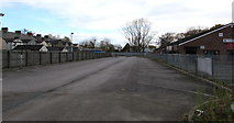 ST3186 : Eastern end of the Royal Gwent Hospital car park, Newport by Jaggery