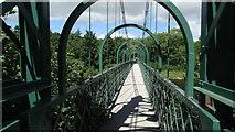 NN9357 : Tummel Suspension Bridge, Pitlochry by Colin Park
