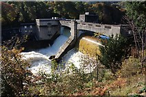 NN9357 : Pitlochry Dam by Graeme Yuill