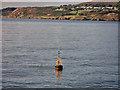 O2833 : Rosbeg South Marker Buoy, Dublin Bay by David Dixon