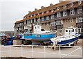 SY4690 : Harbour scene, West Bay by Bill Harrison