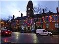 SJ9494 : Hyde Town Hall Christmas Lights  2017 by Gerald England