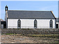 NX4736 : Church of Scotland, Isle of Whithorn by Trevor Littlewood