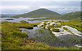 NX4484 : Peninsula into Loch Enoch by Trevor Littlewood
