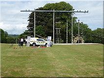 SX8752 : Coastguard display - Britannia Royal Naval College by Chris Allen