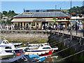 SX8751 : Dartmouth - Station Restaurant by Chris Allen
