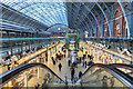 TQ3082 : St Pancras Station, London by Christine Matthews