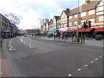 TQ1885 : Wembley High Road by Philip Halling