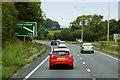 SJ2667 : North Wales Expressway (A55) near Northop Hall by David Dixon