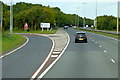 SJ2073 : Junction 32, North Wales Expressway by David Dixon