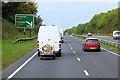 SJ1476 : Westbound A55 near to Gorsedd by David Dixon