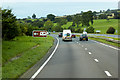 SJ0976 : Westbound A55 by David Dixon
