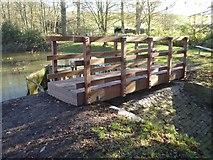 SO8843 : New footbridge by Philip Halling