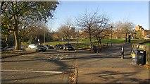 ST5973 : Castle Street and Castle park, Bristol by Derek Harper