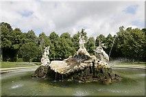 SU9185 : Centre of the fountain by Bill Nicholls