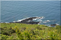 SX4348 : Rocks on the coast by N Chadwick