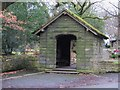 SD7410 : Lychgate at Christ's Church by Philip Platt
