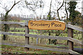 TM3765 : Strawberry Place sign by Adrian Cable
