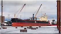 J3576 : The 'Ikan Bagang' at Belfast by Rossographer