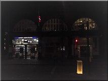TQ3179 : Lambeth North Underground Station, Westminster Bridge Road by Robin Sones