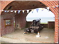 SZ3389 : Gun casemate at Fort Victoria by Martin Speck