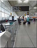 TL5523 : Stansted Airport terminal interior by Thomas Nugent