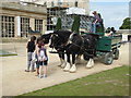 SK2670 : Chatsworth House - two horsepower vehicle by Chris Allen